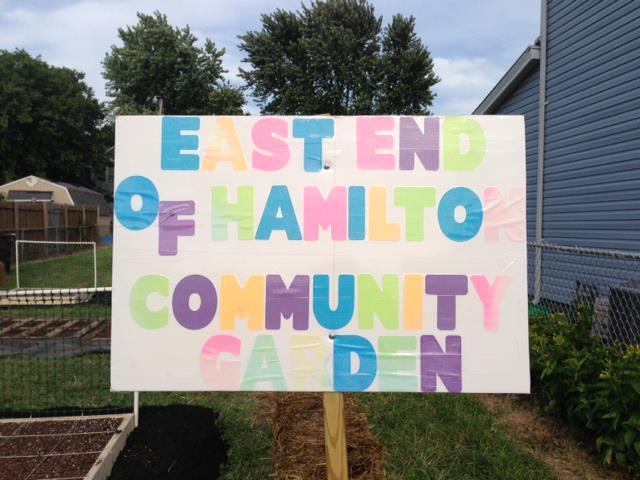 East End Community Garden
